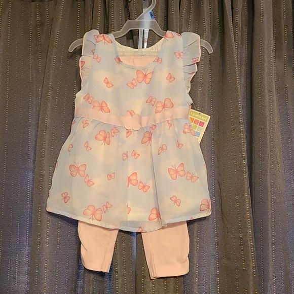 2 piece little girls outfit